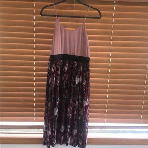 xhilaration pleated dress
